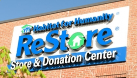 Volunteer at the Habitat for Humanity ReStore